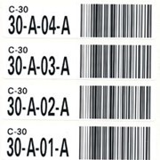 Pre-Printed Storage Location ID Barcode Labels | Barcode Labels