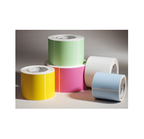 Flood Coated Colour Labels | Barcode Labels