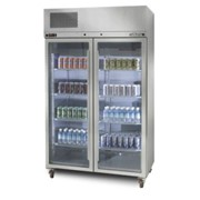 Pearl Star Glass Door Fridge | HPS2SDSS