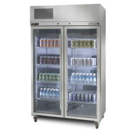 2 Door Pearl Star Fridge | WILLIAMS HPS2SDSS