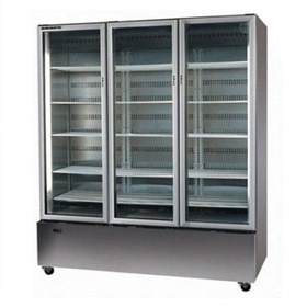 1350L 3 Glass Door Chiller | Skope B1350