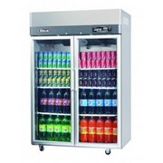Top Mount Glass Door Refrigerator | Turbo Air KR45-2G