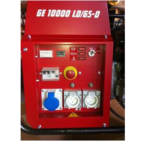Generating Set with Stop But | GE 10000 LD/GS-D