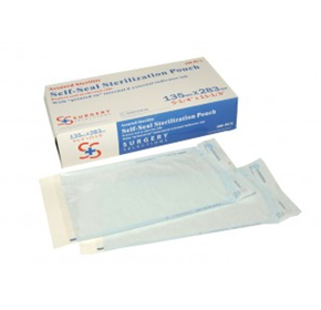 Single Pack of 135mm x 283mm Sterilisation Pouches | MADPAC