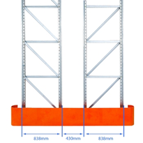 Pallet Racking Frame End Protectors | MHA