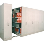 Mobile Compacting Shelving | Compactus