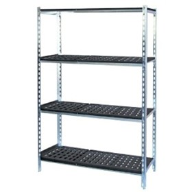 Coolroom Shelving with Plastic Shelves | MHA