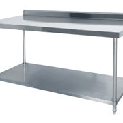 Stainless Steel Benches with Splashback | MHA