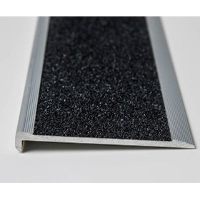Stair Nosing | Black Slimline with Non Slip Carbide