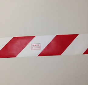 Barrier Tape | Red and White - Robinson International