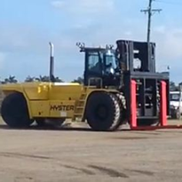 54,000kg Rated New Container Handler | Hyster H54XM-12