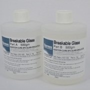 Breakable Glass Silicone Rubber | SR-BG-S