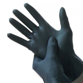 Latex Powder-Free Examination Gloves | Black Beauty
