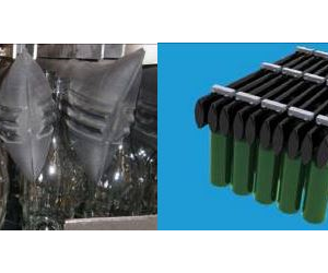 Pronal Palletising Grippers are designed for the glass industry to securely grip bottles and flasks for palletising and depalletising.