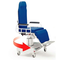 Reducing hospital injuries, patient transfers with TMM3 chair
