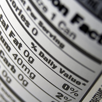"Food labels a ""window"" into manufacturing process"