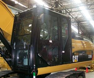 For earthmoving machinery and similar equipment, companies can utilise machine security covers.