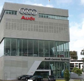 Audi Centre calls on Crown for spare parts handling