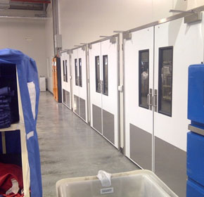 New 5000 series Hygiene Doors for Linen Services
