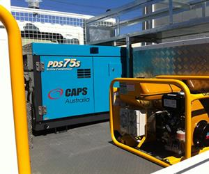 CAPS Airman portable air compressors