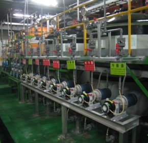 Purifying wastewater with peristaltic industrial tube pumps