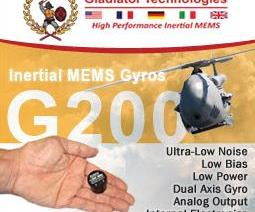 Bestech Australia is introducing the brand new G200 Dual Axis MEMS Gyro from Gladiator.