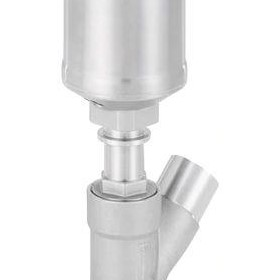 Pneumatically Operated 2/2-Way Angle Seat Valve | Type 2060