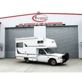 Traveller superbly stable with 10 years of Airbag Man air suspension