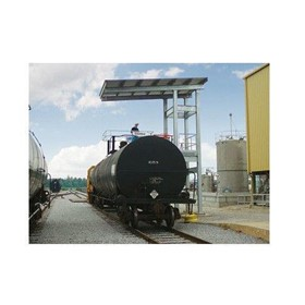 Railcar Loading Platform Canopies and Shelters