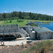 JBS Australia water treatment plant