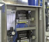 This control panel is used to run a centralised control system at a water treatment plant.