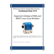 Technical note #19 - Laser gain modules