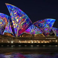 Vivid light shines on Sydney's restaurant industry