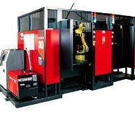 "Firms can automate their welding jobs using a ""packaged"" pre-engineered system that is easily programmed to their changing needs."