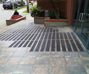Vancouver Real Estate Board tiled entrance with Safe Grip anti slip strips