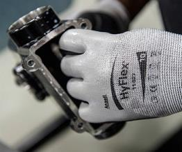 By foregoing the protection of gloves, workers risk being exposed to injuries that will delay progress in the longer term as well.