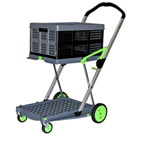 Clax Folding Trolley | One Basket