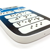 3D printing key to world's first commercial braille mobile phone