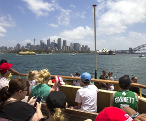 New South Wales remained the most popular destination for overseas visitors in 2013-14.