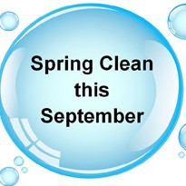 Spring clean this September
