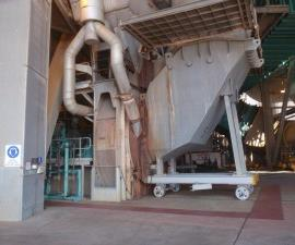 Beater Wheel Mills are used to dry coal prior to the coal entering the boiler's combustion chamber.