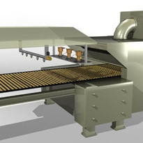 Fire protection solutions for oven baked products