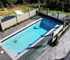 TrendWall with glass infills borders this residential pool