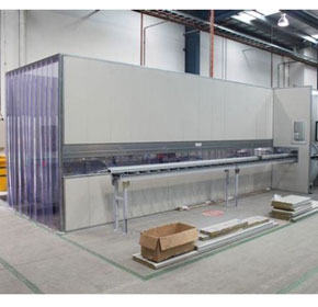 Flexshield offers acoustic enclosure for noise control on workshop saw