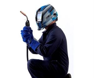 When welding it's important to use safety equipment that not only fully protects but is also comfortable to use.