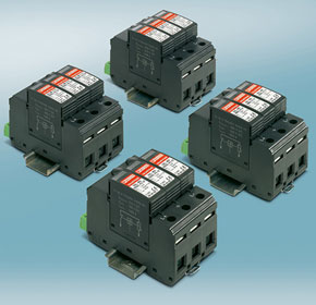 PV arresters with 1000 A short-circuit current rating