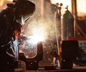 How can you protect yourself from potential harm whilst welding?
