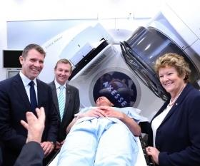 Bright Alliance launch (L to R): NSW Premier Mike Baird; Bruce Notley-Smith Member for Coogee; Health Minister Jillian Skinner. (Image: UNSW)