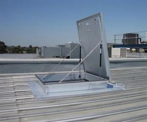 Employers must ensure all roof access systems comply with current OHS legislation.