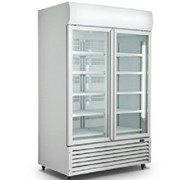 Upright Glass Door Refrigerator | ME-D10